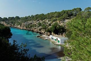 Die Bucht Cala Pi auf Mallorca