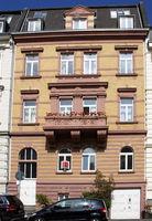Stammheimer Str. 17, House facade, Cologne-Riehl, NRW, Rhineland