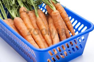 Karotten mit Stiel