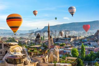 Ballooning in Goreme