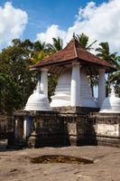 Gadaladenyia Vihara is an ancient Buddhist temple, Sri Lanka.