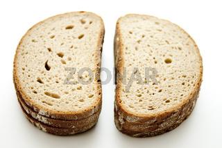 Brot in Scheiben