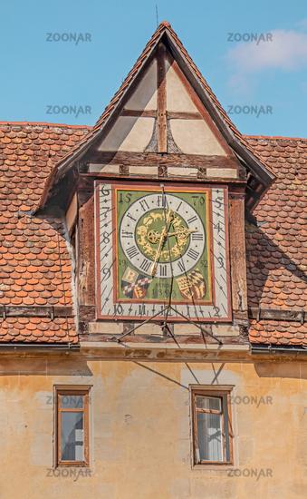 Sonnenuhr Kloster Bebenhausen, Baden-Württemberg