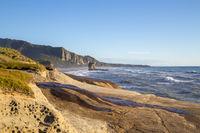 Punakaiki Beach in New Zealand