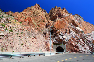 Buffalo Bill Dam Tunnel Wyoming