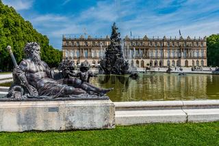 Herrenchiemsee royal buildings