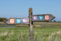 Signs in the Gelting Bay. 014