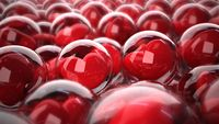 Hearts Likes Glass Spheres