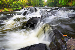 Bond Falls Northwoods Michigan