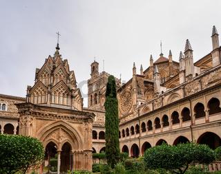 Royal Monastery of Santa Maria de Guadalupe. Caceres, Spain.