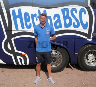 Maik Franz (Hertha BSC Berlin) beim Benefizspiel RB Leipzig - Hertha BSC am 13.07.2013 in Dessau