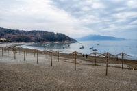 Manseong-ri black sand beach