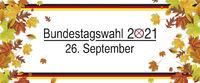 Bundestagswahl 2021 German Autumn Foliage Fall