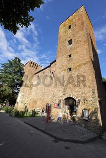 Città della Pieve Umbria Italy. Rocca Perugina