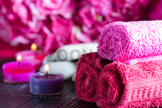 Aromatherapy Spa setting