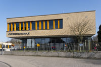 Modern primary school, Luenen, Ruhr area, North Rhine-Westphalia, Germany