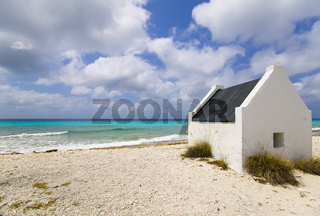 slave huts in Bonaire