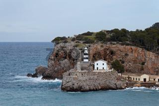 Blick nach Port de Soller auf Mallorca