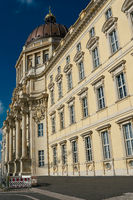 rebuilt city palace with the new name Humboldt Forum in the center of Berlin