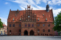 Medieval city hall. Juterbog is a historic town in north-eastern Germany