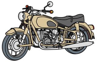 Motorrad von 1960