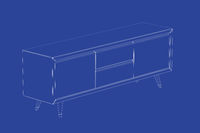 3d model of tv stand