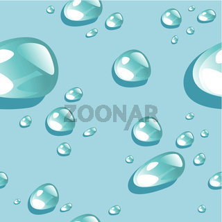 Water drops pattern background
