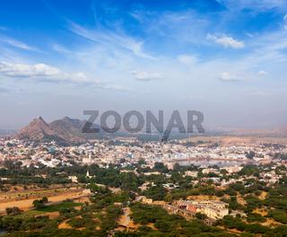 Holy city Pushkar. Rajasthan, India