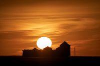 Prairie Sunset Summer