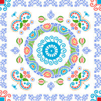 Hungarian embroidery pattern 107