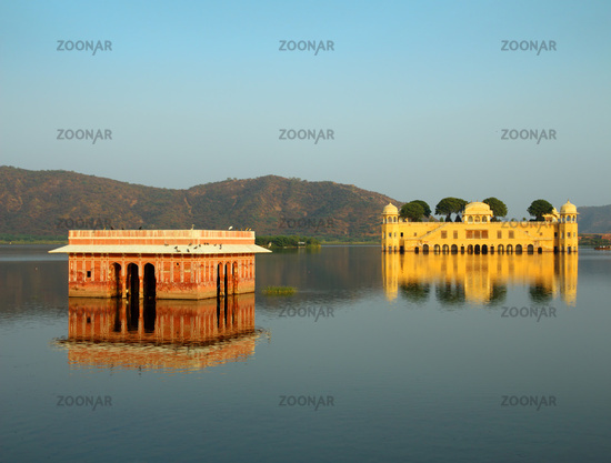 jal mahal - palace on lake in Jaipur