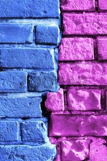 abstract brick wall