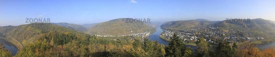 Panoramic View from Prinzenkopf