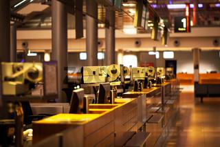 Terminal für Fluggäste und Checkin