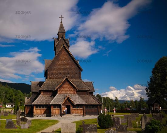 Heddal Stave Church, Notodden municipality, Norway