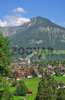 Urlaubsort Oberstdorf im Allgäu