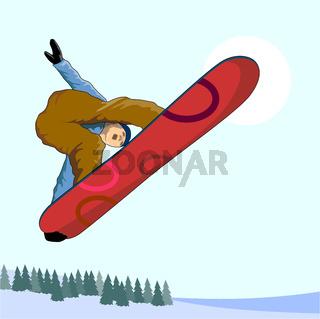 Snowboarding on Air