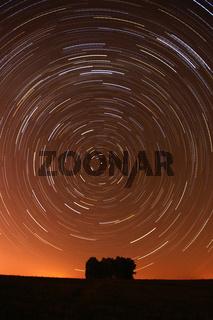 Star Trail in Alentejo