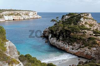 Die Bucht Calo d´es Moro auf Mallorca