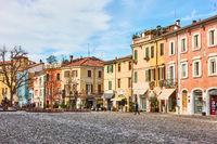 Old square in Cesena