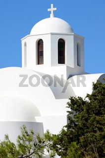 Kirche in Imerovigli - Santorin - Griechenland