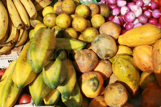 Bananas Melons and Onions
