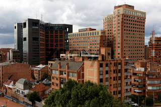Bank Towers in Bogota, Colombia