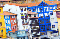 Typical Architecture, Bermeo, Spain
