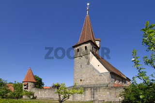 Effeltrich, Kirchenburg St. Georg