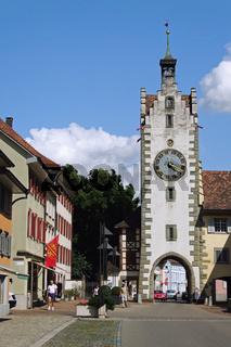 Der Siegelturm in Diessenhofen (Schweiz)