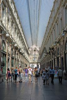 Einkaufspassage Galeries Royales Saint-Hubert, Brüssel, Belgien