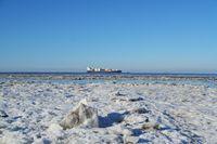 Winter an der Elbe, Otterndorf