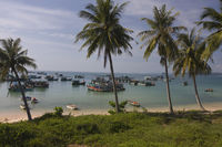 Tropical beach,near Giang Dau,on,the islandof,Phu