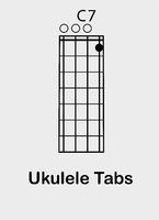 Ukulele chords C 7